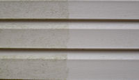 Before and After: vinyl siding and pressure washing